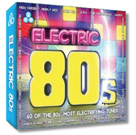 Electric 80's 3CD Set